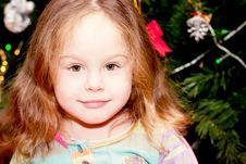 Free Happy Little Girl  Indoor Stock Image - 23362511