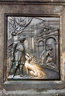 Free The Bas-relief On The Charles Bridge In Prague Royalty Free Stock Photos - 23363978