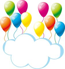Free Congratulation, A Birthday Royalty Free Stock Image - 23364216