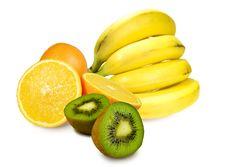 Free Fruit On White Background Royalty Free Stock Photo - 23364875