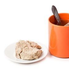 Free Tea And Halva Stock Images - 23367424