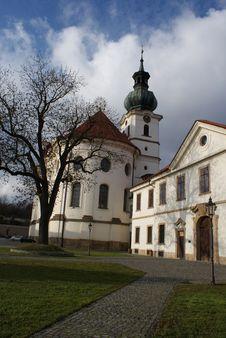 Free Detail Of Marketa Church In Prague Royalty Free Stock Photography - 23367917