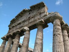 Free Paestum Royalty Free Stock Photos - 23368448