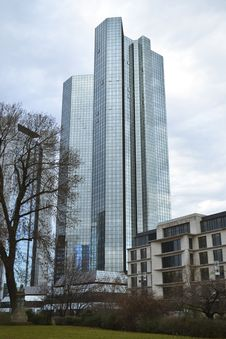 Free Bank Skyscrapers In Frankurt Stock Photo - 23368490