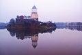 Free Medieval Vyborg Castle On Island Stock Photos - 23372303
