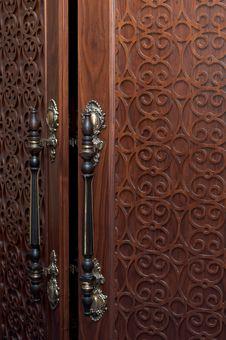 Old Door S Handles Stock Photos