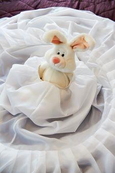 Free Toy Rabbit In Wedding Dress Stock Photo - 23371700