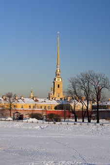 Free The Peter And Paul Fortress Royalty Free Stock Photos - 23374348