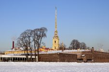 Free The Peter And Paul Fortress In St.-Petersburg Stock Photo - 23374350
