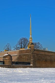 Free The Peter And Paul Fortress Stock Image - 23374351