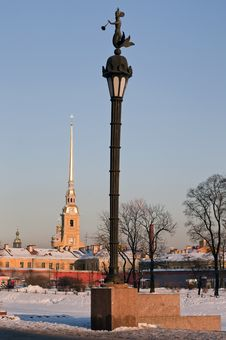 Free The Peter And Paul Fortress In St.-Petersburg Royalty Free Stock Photography - 23374357