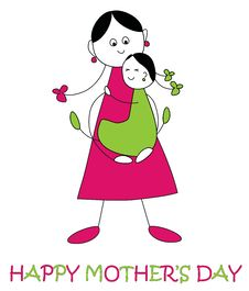 Free Mother S Day Clip-art Royalty Free Stock Photo - 23377565