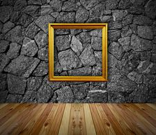 Free Empty Frame In A Room Stock Photography - 23379312