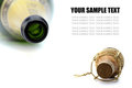 Free Cork And Bottle Of Champagne Royalty Free Stock Photo - 23380475