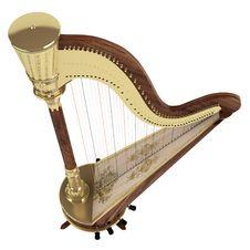 Free Harp Stock Image - 23383331