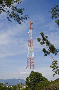 Free Antenna Signal Stock Image - 23383611