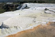 Pamukkale Pools Royalty Free Stock Photography