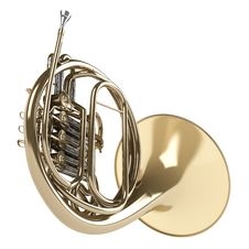 Free French Horn Royalty Free Stock Photography - 23383707