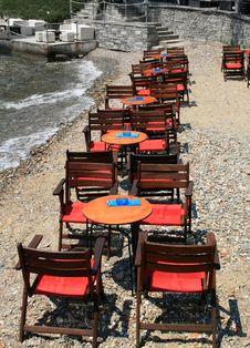 Free Restaurant On The Beach Stock Photos - 23385583