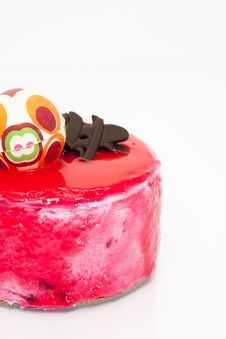 Free Strawberry Mousse Stock Image - 23386861