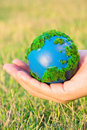 Free Earth In Hand Royalty Free Stock Photography - 23394627