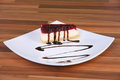 Free Piece Of Cake On The Plate Royalty Free Stock Images - 23398019