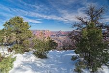 Free AZ-Grand Canyon National Park-S Rim Royalty Free Stock Image - 23390276