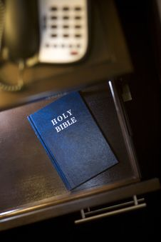 Free Bible In Hotel Room Royalty Free Stock Photos - 23390398