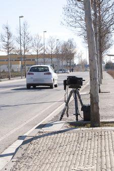 Traffic Radar Royalty Free Stock Photo