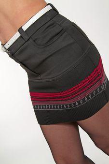 Free Women S Skirt Royalty Free Stock Photos - 23393118