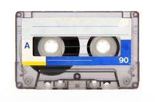 Free Vintage Audio Tape On White Background Stock Photos - 23393953