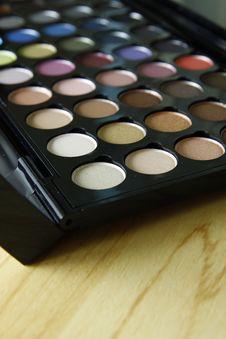 Free Make Up Palette Stock Photos - 23395423