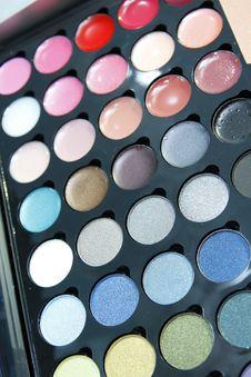 Free Make Up Palette Royalty Free Stock Photo - 23395455