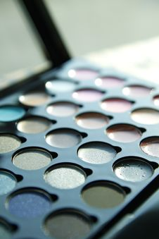 Free Make Up Palette Royalty Free Stock Photography - 23395617