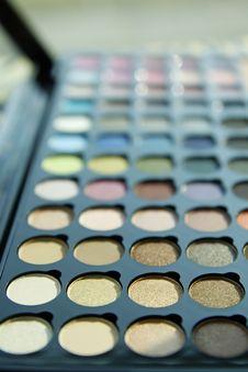 Free Make Up Palette Stock Photo - 23395640