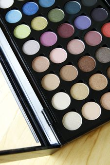 Free Make Up Palette Stock Photo - 23395660