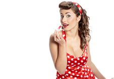 Free Pin-up Girl. American Style Stock Image - 23396791