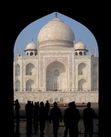 Free Taj Mahal Stock Photo - 23396950