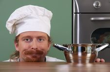 Free Funny Young Chef Royalty Free Stock Photos - 23397728