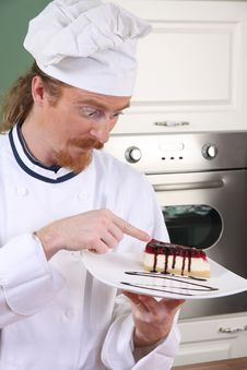 Free Funny Young Chef Royalty Free Stock Photos - 23397868