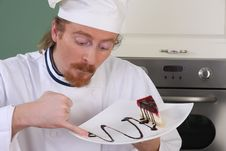 Free Funny Young Chef Stock Image - 23397951