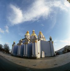 Free St. Michael Cathedral. Kyiv, Ukraine. Stock Photos - 23398353