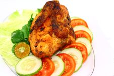 Free Indonesian Roasted Chicken Stock Image - 23399451