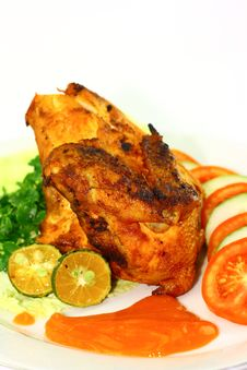 Free Indonesian Roasted Chicken Stock Photos - 23399513