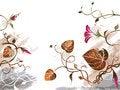 Free Grunge Floral Background Stock Image - 2345161