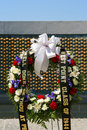 Free Wreath At The WWII Memorial Stock Photography - 2345702