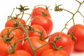 Free Cherry Tomatoes On Vine Royalty Free Stock Images - 2349769