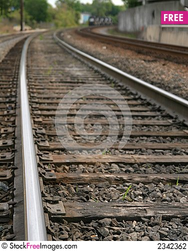 Free Curving Tracks Stock Photography - 2342362
