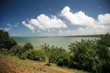 Free Turquiose Island Lagoon View Stock Photo - 2341020