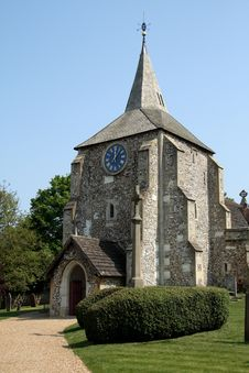 Free English Village Church Royalty Free Stock Photo - 2344355